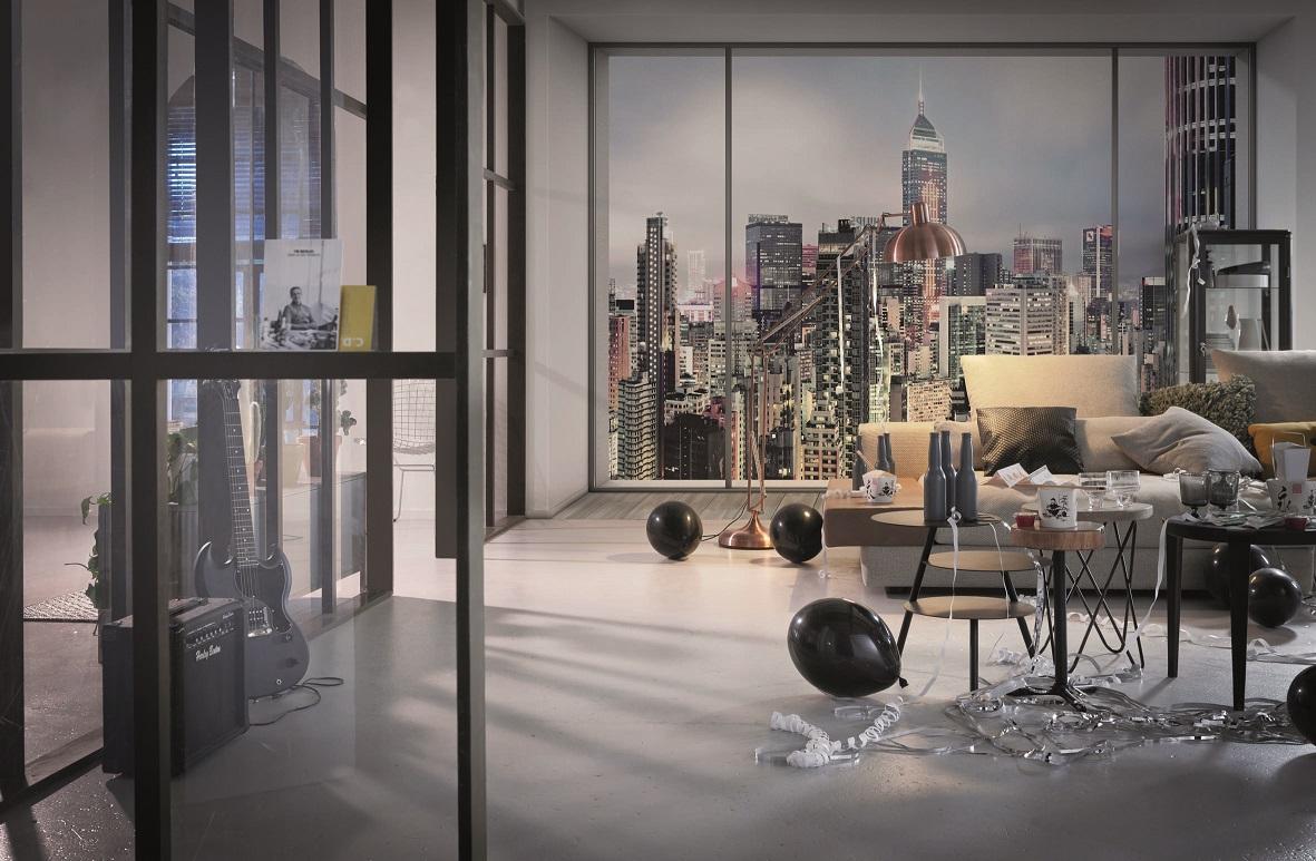 fototapeta na flizelinie xxl4 030 suite. Black Bedroom Furniture Sets. Home Design Ideas