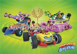 Fototapeta 11876 MICKEY AND ROADSTER RACERS