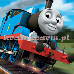 Fototapeta 3D 802 Thomas The Tank Engine