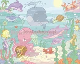 Fototapeta Baby Under the Sea 037