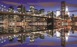 Fototapeta na flizelinie 1670VE Brooklyn bridge w nocy