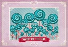 Fototapeta na flizelinie 2466VE SWEET OF THE DAY