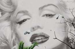 Plakat 00674 Marilyn w Cannes