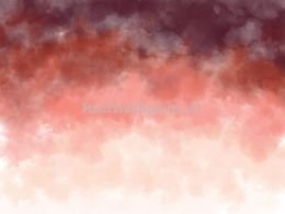 Watercolor Ombre Red