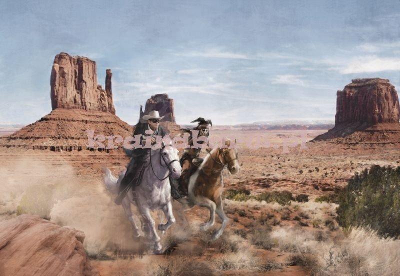 1b591ef8a Fototapeta 8-473 Lone Ranger