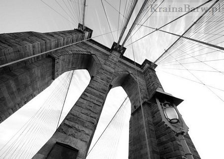Fototapeta FM0461 Brooklyn Bridge Wide Angle 3 (Jose Gil)